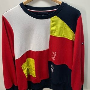Tommy Hilfiger Men's XXL Colorblock L/S Shirt